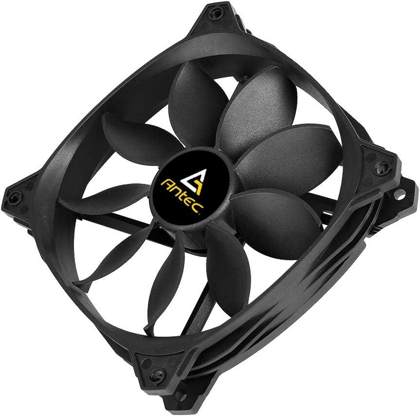 Antec 120mm Case Fan High Airflow 53 CFM @ 1000 RPM Single Lotus Series