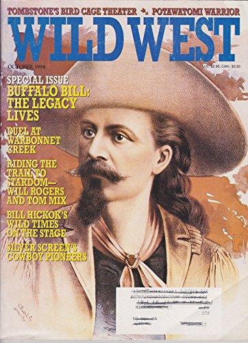 Wild Magazine West (Wild West Magazine, October 1994, Volume 7 Issue 3)