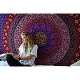 Hippie Tapiz, Hippy Mandala bohemios Tapices, india decoración del dormitorio, Psique ...