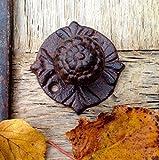 Door Knob (model 3)(hand painted), Cast iron door knob, door knob, iron door knob, cast iron.
