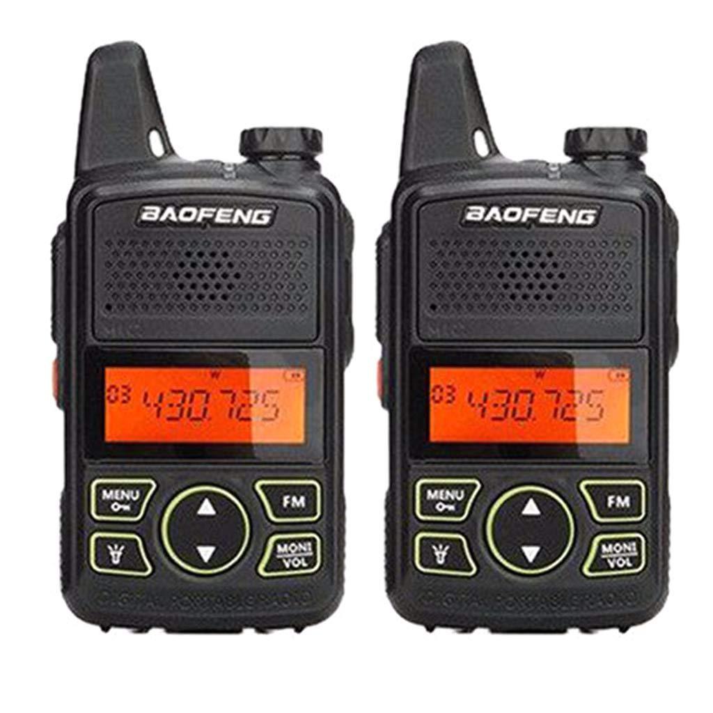 Yuly Two Way Radio BF-T1 Walkie Talkie UHF 400-470mhz 20CH Portable Ham FM CB Radio Handheld Transceiver 2pcs/lot BAOFENG T1 Mini by Yuly (Image #4)