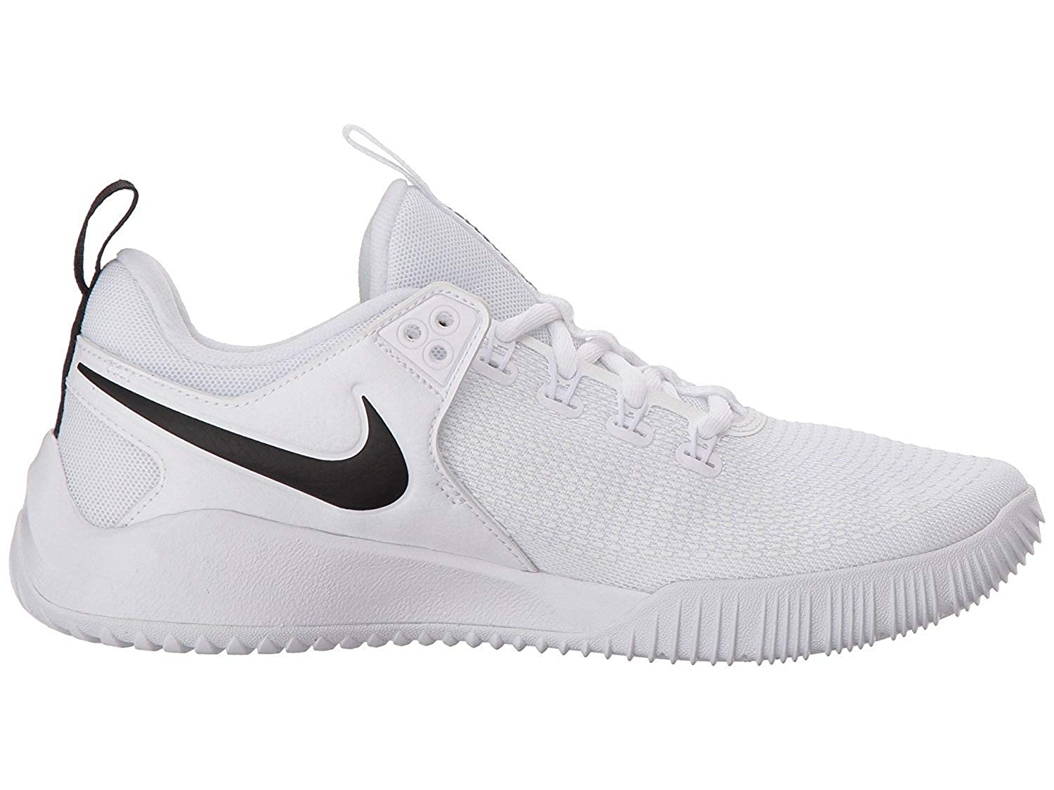 NIKE Women's Air Zoom Hyperace 2 Shoes, 白い/黒, 11.5 B US
