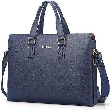 Men/'s Leather Briefcase Messenger Shoulder Bag Business Handbag Tote Satchel New