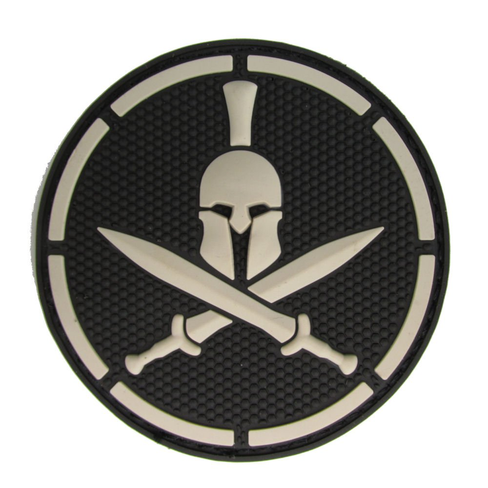 MIL-SPEC Spartan Helmet PVC Patch Swat Mil-Spec Monkey