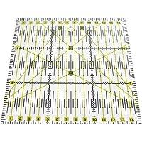 Hrph Reglas de patchwork acrílico escala exacta transparente