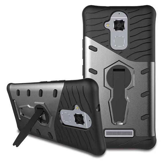 wholesale dealer a48ee 4d748 Amazon.com: for ASUS ZenFone 3 Max Case [360 Kickstand Holder ...