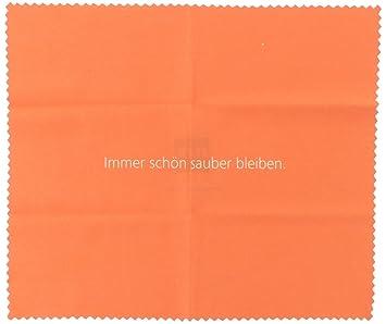 Microfasertuch Von Zeiss Mit Netten Sprüchen Orange Amazon De