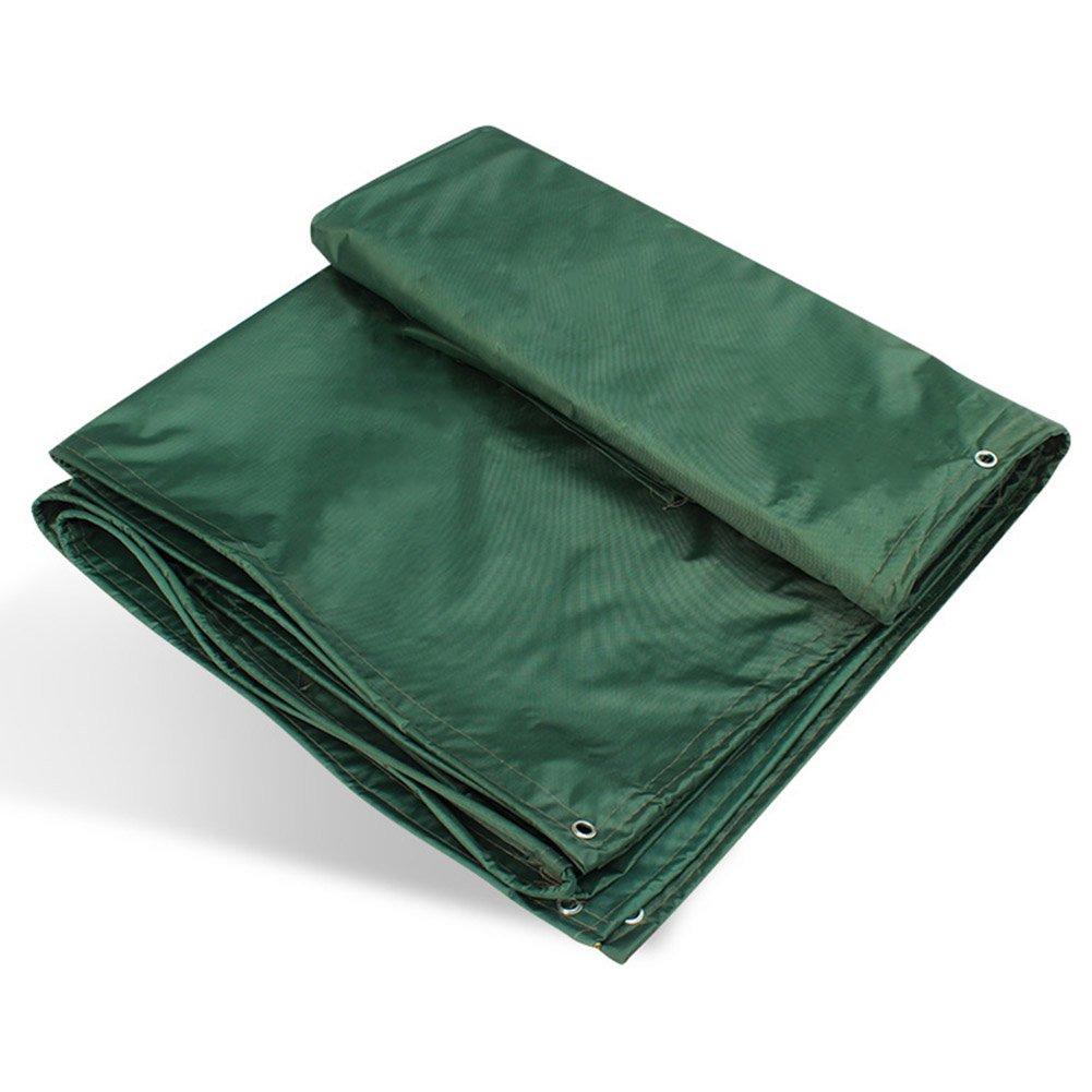 ZHANWEI ターポリンタープ Tarp テント タープ 厚い防水布オーニング 雨篷 厚い 耐寒性 日焼け止め オックスフォード布 オーニング グルー リノリウム シェード トラック、 緑 (色 : Green, サイズ さいず : 4x5M) B07FYJKB3N 4x5M|Green Green 4x5M