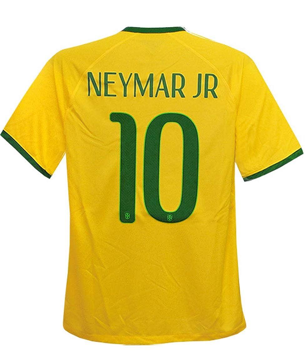 (ナイキ) NIKE 14 15ブラジル代表 ホーム 半袖 ネイマール 575280-703 B0166FQ7AY M