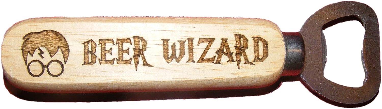 FastCraft D/écapsuleur Harry Potter Assistant de bi/ère en Bois Fan Cadeau