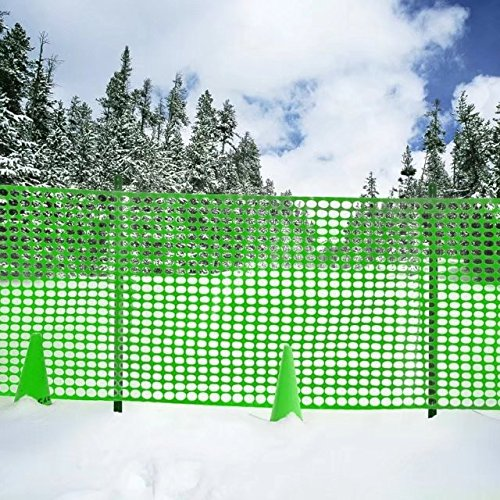 V Protek Safety Fence For Flower Plants Support,Snow Fencing,Deer Netting,47