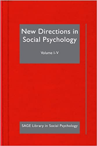 Book New Directions in Social Psychology (SAGE Library in Social Psychology)