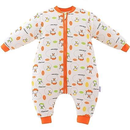 HAIMING-sleeping bag Mono De Bebe Saco De Dormir De La Pierna del Bebé Pijamas