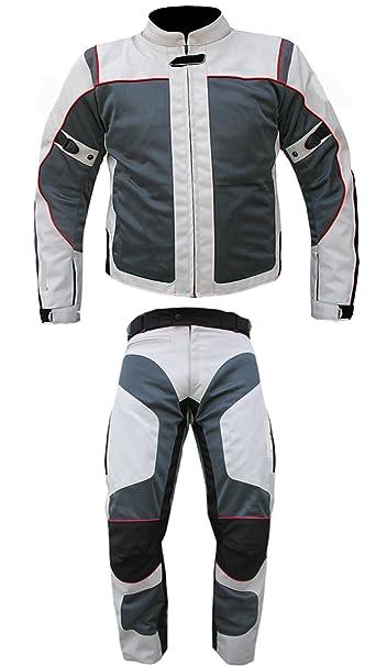 AZ - Conjunto de 2 piezas de ropa para moto, reforzada, impermeable, disponible en distintas tallas