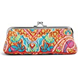 Vera Bradley Kisslock Coin Purse Glasses Holder in Paisley in Paradise