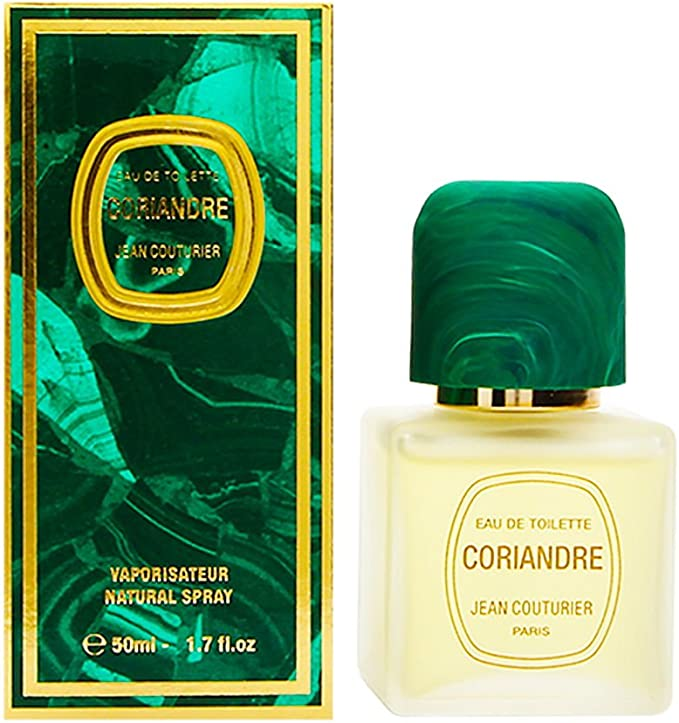 Jean Couturier Coriandre EDT Spray, 1.7 oz: Amazon.co.uk: Beauty