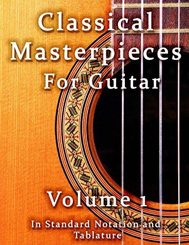 Classical Masterpieces for Guitar Volume 1 (Classical Guitar Sheet - One Sheet Music