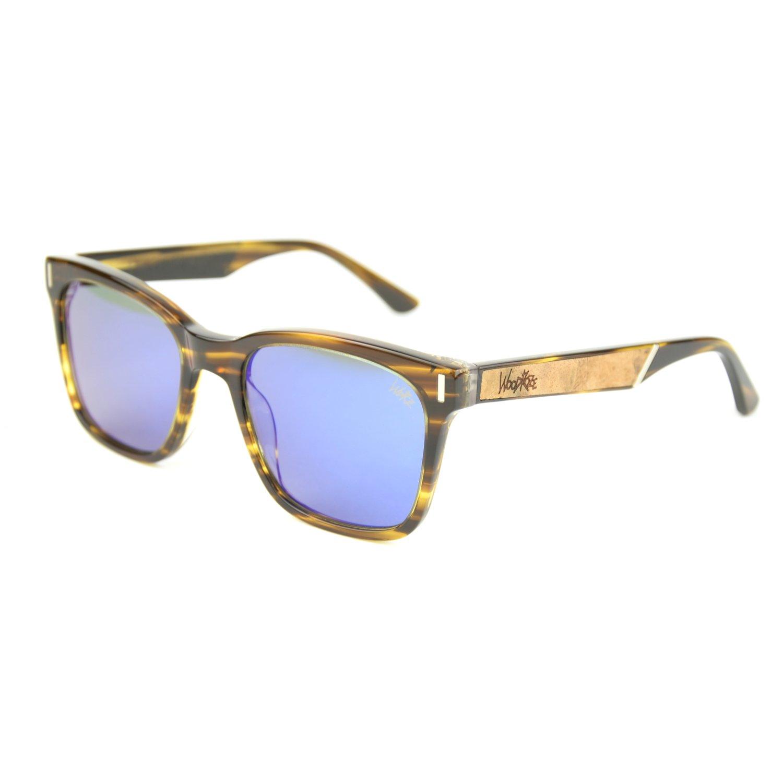 """Amazon.com: Burl Madera """"Carter acetato anteojos de sol ..."""