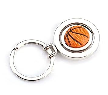 Sportigo® Giratorio Baloncesto llavero 3d aspecto / regalo: Amazon ...