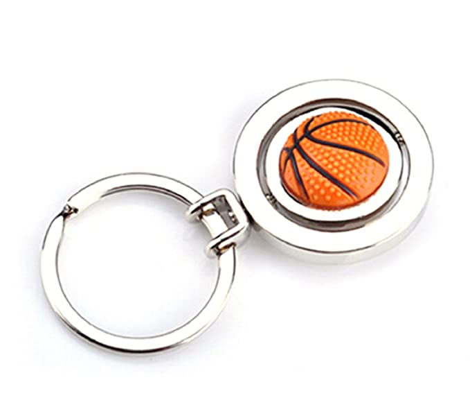 Sportigo® Giratorio Baloncesto llavero 3d aspecto / regalo: Amazon ...