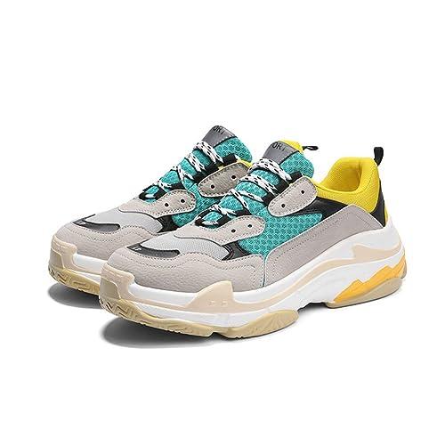 Los Zapatos de Las Mujeres Caen los nuevos Zapatos de la Tendencia de la Moda, Amantes Zapatillas de Deporte: Amazon.es: Zapatos y complementos