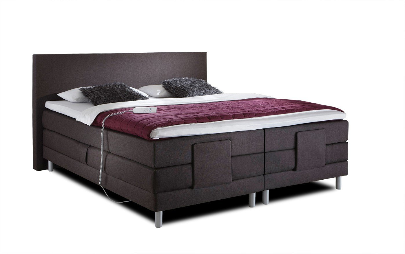 boxspringbett hotelbett elektrisch verstellbar vital. Black Bedroom Furniture Sets. Home Design Ideas