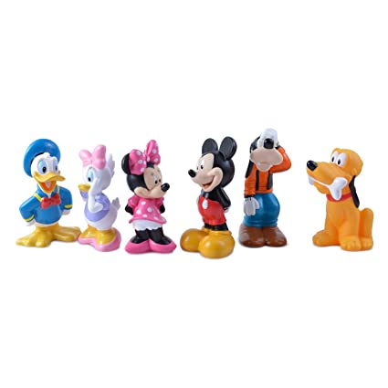 eb20271a22f Disney Mickey Mouse Clubhouse Bath Toy Play Set -- 6-Pc.  Amazon.ca  Toys    Games