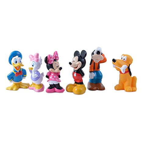 2ac7d95198 Amazon.com  Disney Mickey Mouse and Friends Bath Toys for Baby  Toys   Games