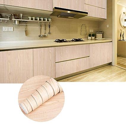 KINLO 3 Rotoli Carta Adesiva per Armadi Mobili da Cucina Autoadesive da  Parati 5 x 0.61M PVC Waterproof Ricondizionati Wall Sticker per Vetro ...