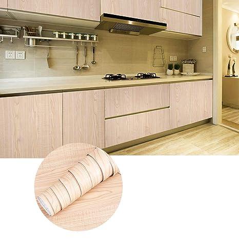 KINLO 1 Rotolo Carta Adesiva per Armadi Mobili da Cucina Autoadesive da  Parati 5 x 0.61M PVC Waterproof Ricondizionati Wall Sticker per Vetro ...