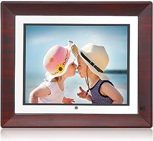 BSIMB Digital Picture Frame Digital Photo Frame 9 Inch IPS Display 1067x800(4:3) Hi-Res Digital Photo & HD Video Frame with Motion Sensor USB/SD Card Playback Calendar Remote Control M09
