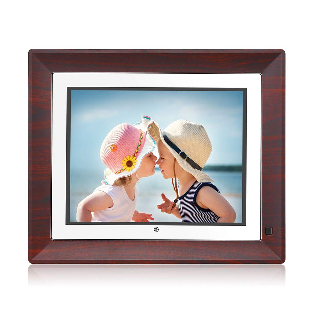 BSIMB Digital Picture Frame Digital Photo Frame 9 Inch IPS Display 1067x800(4:3) Hi-Res Digital Photo & HD Video Frame with Motion Sensor USB/SD Card Playback Calendar Remote Control M09 by Bsimb (Image #1)