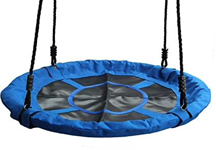 """Movement God Saucer Tree Swing for Kids /& Adults Outdoor 32/"""" Diameter Purple"""