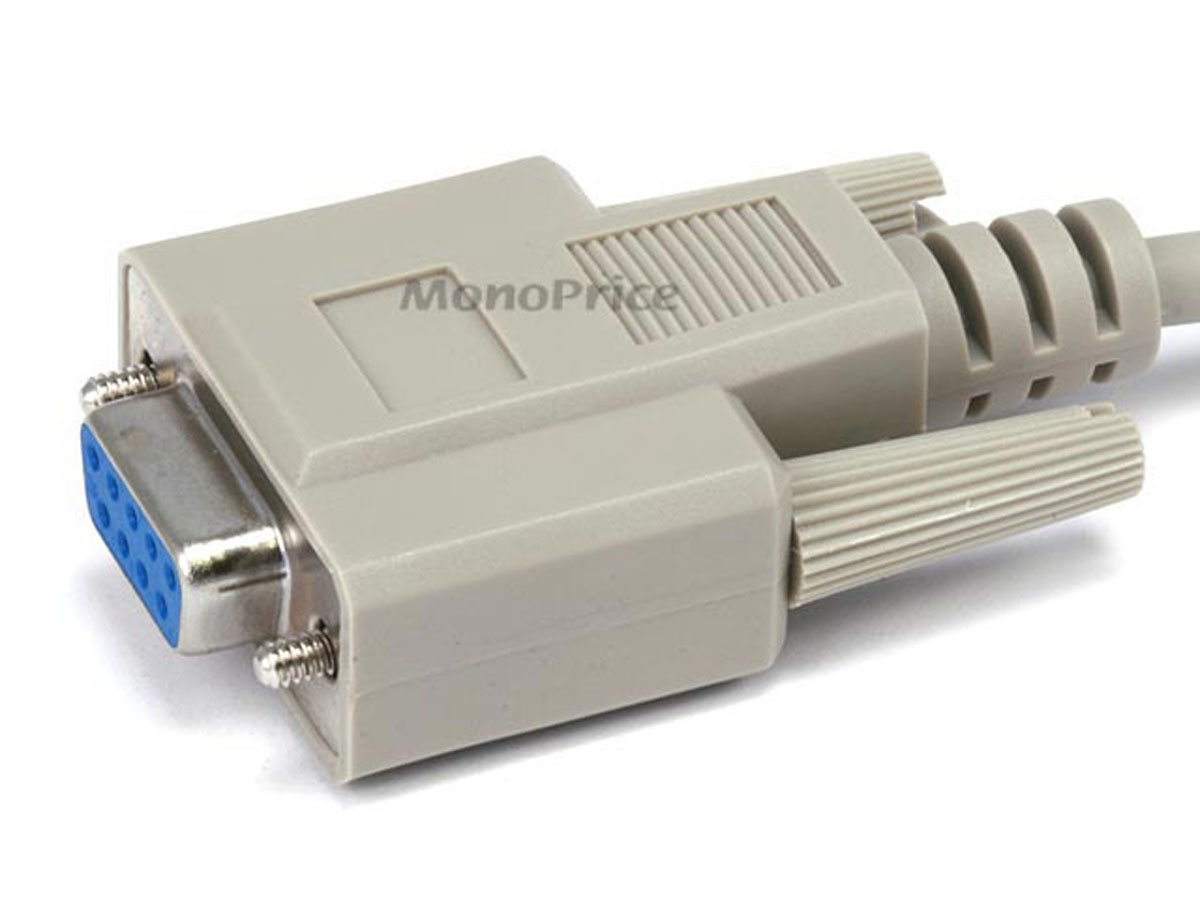3ft at Modem DB9F//DB25M Molded Cable
