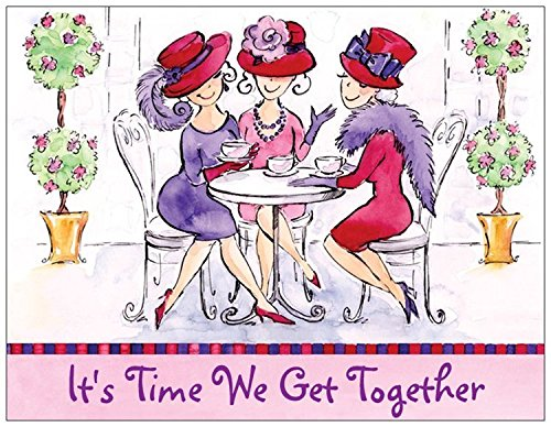 Red Hat Ladies Event Invitation (Invitations Hat Red)