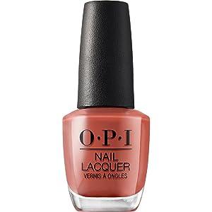 OPI Nail Polish, Nail Lacquer, Peach / Orange Nail Polish, 0.5 fl oz