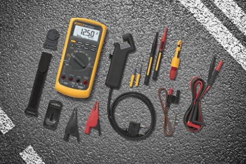 Fluke 88 Digital Multimeter Manual : Fluke v a kit automotive multimeter combo buy