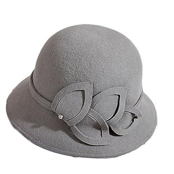 AJ E0 Sombrero de Lana Señora Autumn Winter Painter Hat Sombrero de Flor de  Invierno Caliente.  Amazon.es  Deportes y aire libre 91833864465