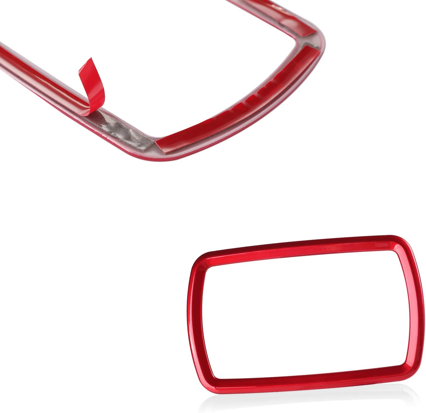 CKE for 10th Gen Civic Car Rear Reading Light Frame ABS Decoration Cover Trim Honda Civic Accessories 2020 2019 2018 2017 2016 Red
