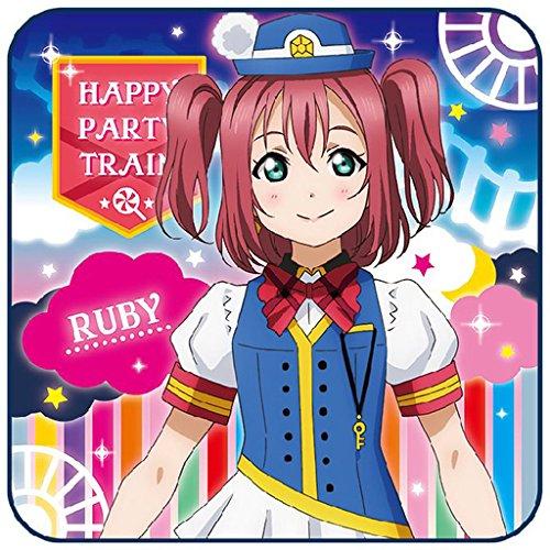 ラブライブ!サンシャイン!! ミニタオル HAPPY PARTY TRAIN Ver. 単品 黒澤ルビィの商品画像