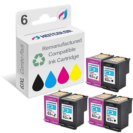 hotcolor valor Set de 6 unidades (3 negro, 3 color) repuesto para ...