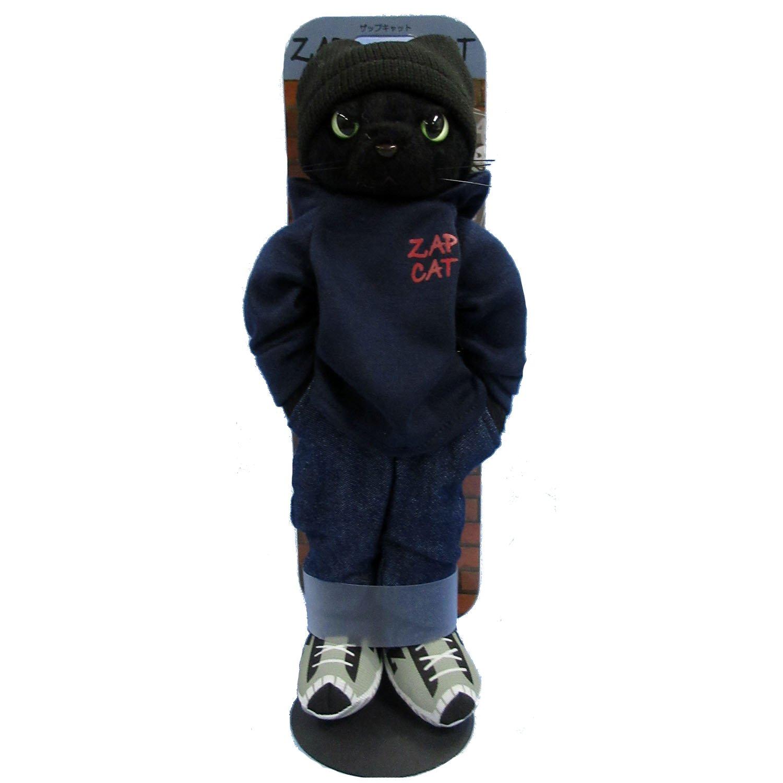 [ZAP CAT/Zap Cat] Cat plush Ray Black Cat