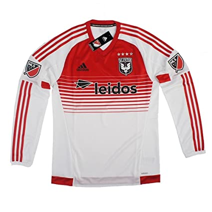 D.C. United Major League Soccer MLS ADIDAS Long Sleeve Authentic On-field  Jersey Men s ( 79d43808b