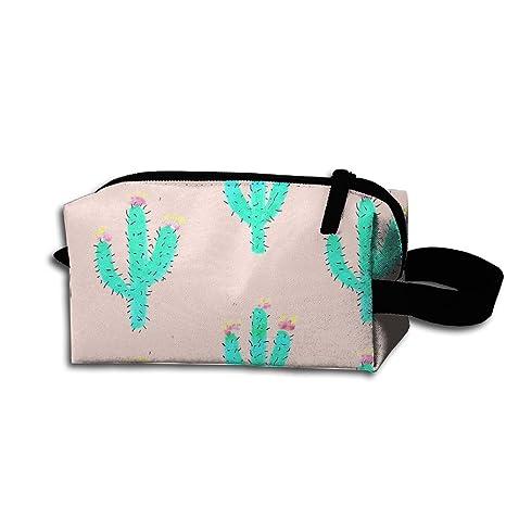 Bolsa de cosméticos con impresión 3D de cactus Tumblr para ...