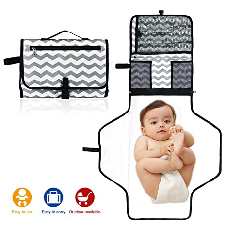 SACONELL - Cambiador de pañales portátil para bebé ...