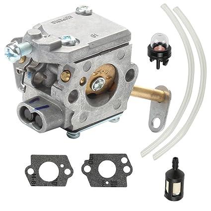 amazon com hilom 300981002 carburetor with fuel filter line for hilom 300981002 carburetor with fuel filter line for homelite ut 10532 ut 10926 ps33