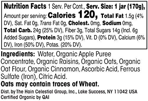 Buy earth's best organic oatmeal
