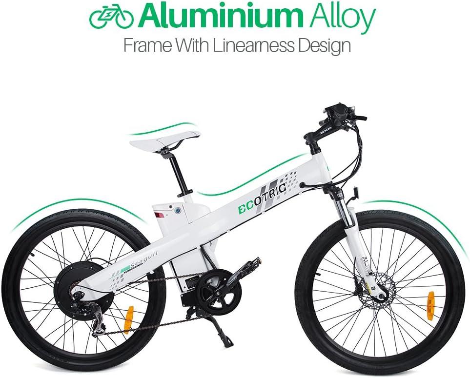 E-go Electric E Bike Hydraulic Brake 1000w 48v13ah 白い Pedal Assist Moped by E-GO BIKE