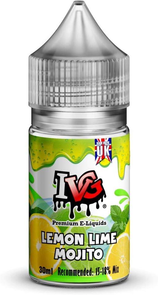 IVG Premium Aroma Concentrado Sabor para mezclar e-liquido (Lemon Lime Mojito)