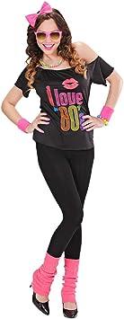 NET TOYS Disfraz de Madonna años 80 Vestido Estrella del Pop ...